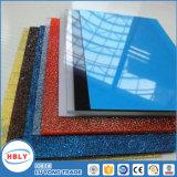 Feuille solide matérielle de polycarbonate de construction de toit plat clair de tente