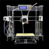 Machine d'impression de bureau de Fdm 3D de l'imprimante 3D transparente d'Anet A8