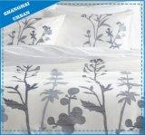 森林青いポリエステルは羽毛布団カバーセットを印刷した