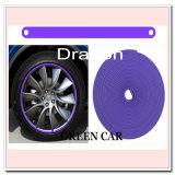 La rueda apta con la rueda adhesiva de la aleación bordea el protector