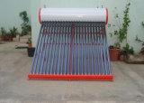 Calentador de agua solar tubular casero de la presión inferior del uso