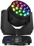 Luz principal movente do diodo emissor de luz da rotação grande 19PCS RGBW Osram do olho K10
