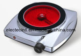 Electric Hot Plate with High Hardness Ceramic Glass Plate with Metal Housing and Knob Control (CH-S1K2)