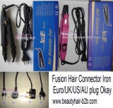 EU/Us/UK/Aus/Plugの融合Hair Connector Iron 100-240V