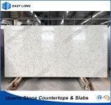 De Plak van het Kwarts van de steen voor Countertops/van de Keuken Tafelbladen met SGS Rapport (Marmeren kleuren)