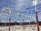 Edificio de acero de la fábrica de la construcción de los edificios de la estructura de acero del Largo-Palmo