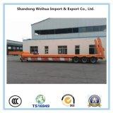 30t aan 40t 3 Assen 16m tot 40m Verlengbare Semi Aanhangwagen Lowbed