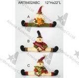 크리스마스 산타클로스 눈사람 치료 콘테이너, 가정 훈장, 3asst