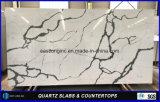 Artificial Calacatta piedra del cuarzo de los materiales de construcción / superficie sólida / de mesa / encimera