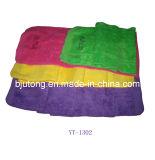 Велюр резвится полотенце в вышитом логосе 4 цветов