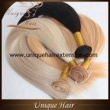 Уток волос Remy наградного качества бразильский