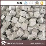 Piedra gris blanca del adoquín del granito de Hubei G603 para pavimentar