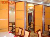 ホテルまたはレストランまたは食堂のための操作可能な隔壁