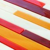 Mattonelle di mosaico di vetro rosse italiane da vendere il mestiere di Backsplash