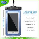新しい方法5.5インチの携帯電話のための防水袋の携帯電話の箱袋