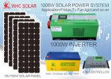 sistema solare 1kw per la casa con il comitato cristallino del modulo di PV del silicone
