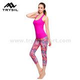 Runingのレギングの女性のスポーツの摩耗のヨガによっては適性の圧縮の体操Tousersが喘ぐ