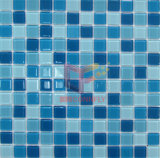 Blue Crystal Swimming Pool Glass Mosaic (CFC148)