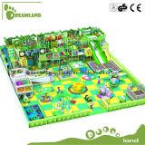Brinquedos para o equipamento interno do campo de jogos dos miúdos, campo de jogos interno macio Canadá