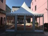 Tente en verre de chapiteau de clou de luxe pour des usagers de graduation de mariage