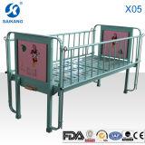 X05는 불안정한 뒤 드는 아이들 침대를 골라낸다