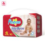 Pañal cómodo del fabricante del bebé de la venta de la humedad barata del bloqueo
