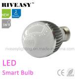 5W LED 감응작용 빛 LED 전구 LED 지능적인 전구