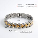 Bracelet unisexe de modèle neuf en gros avec la couleur plaquée d'or