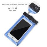 Samsung 은하를 위한 어두운 물 방수 상자에 있는 iPhone 놀을%s 방수 이동 전화 상자 덮개