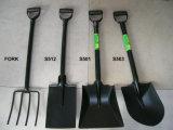 Fourche Integrated de pelle à traitement de pelle à fourche en acier de pelle