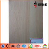 Painel composto de alumínio do teste padrão de madeira do certificado do GV (AE-302)
