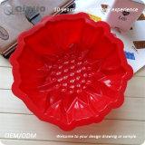 Gâteau simple de silicones de nourriture de Plumeria de la FDA 5cm pour faire des gâteaux au fromage
