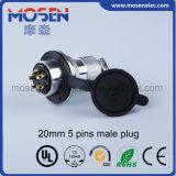 Df40-10 40m m conector circular del socket regular femenino de 10 orificios