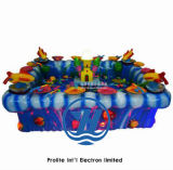 El mejor equipo del parque de atracciones de la piscina de la pesca de la venta para los niños (ZJ-WA07)