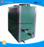냉각된 저온 물 냉각장치를 바람쐰 기계에 주스