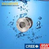 Indicatore luminoso inossidabile approvato della piscina del CREE LED di controllo di DC24V RoHS RGB