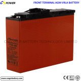 batería delantera del AGM de la terminal de 200ah 12V para Cspower de banda ancha