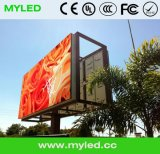 Video Al aire libre pantalla LED / placa del panel de Publicidad China de fábrica