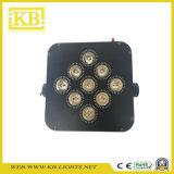La carga de la batería y conexión Wi-Fi LED plana PAR