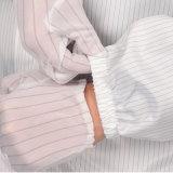 Противостатическим перчатки ESD обнажанные нейлоном работая