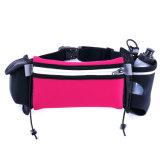 Personalizado impermeable transpirable Lycra corriendo cinturón hidratación cintura bolsa para el deporte