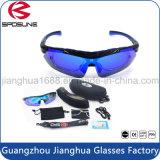 Hikking 색안경 높은 처방전에 의하여 극화되는 반대로 UV400 유리를 순환하는 근시 프레임 삽입 스키 보호 안경 5 한가한 깨지지 않는 렌즈