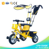 Tricycle d'enfant de bâti en acier/tricycle de gosses/tricycle de bébé