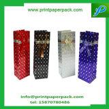Beau sac coloré de traitement de bâton d'usager de sac de papier d'emballage de cadeau de Bowknot