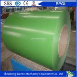A qualidade de China Prepainted bobinas de aço galvanizadas/o aço revestido cor Coils/PPGI com boa qualidade e preço barato
