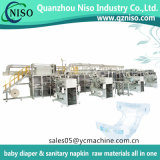 Máquina de noche ajustada y seca de Huggies ultra de Leakguards del bebé de los pañales