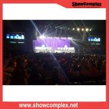 Alta Deifinition visualización de LED de interior a todo color del alquiler de Showcomplex P3.91 para el acontecimiento y el concierto