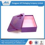 Boîte-cadeau de empaquetage faite sur commande de cadre de relation étroite de proue pour des cartes d'invitation de mariage
