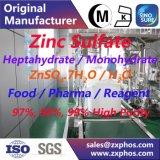 Ранг еды/реагента/электрона сульфата цинка Znso4.7H2O/H2O