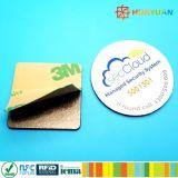 プログラムパッシブPVC NFC Ntag213アンチメタルスマートタグ